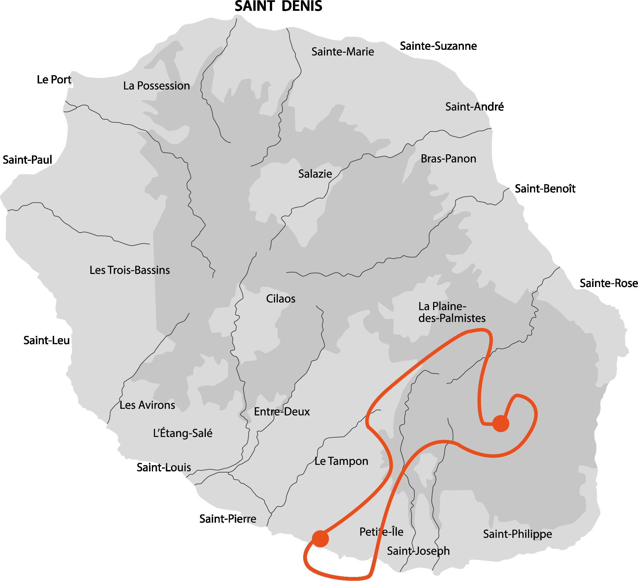 Carte Le Volcan